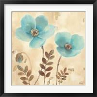 Framed Poppies Three I