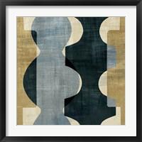 Geometric Deco I Framed Print