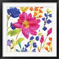 Floral Medley I Framed Print
