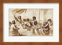 Framed Christ Preaching in the Temple