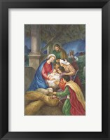 Framed Away in a Manger