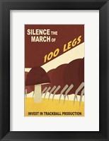 Framed Silence the March