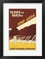 Framed Silence the March
