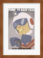 Framed Pump to Keep Free