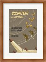 Framed Volunteer for Capture