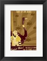 Framed Flying Elite