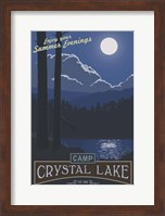 Framed Camp Crystal Lake