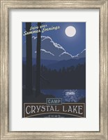 Framed Camp Crystal Lake