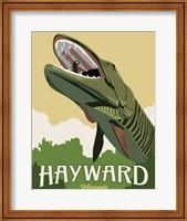 Framed Hayward Muskie