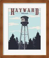 Framed Hayward Water Tower