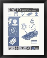 How To Build A Time Machine Framed Print