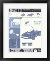 How To Turn Back The Odometer Framed Print