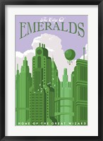 Framed Emerald City Travel