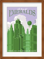 Framed Emerald City Travel