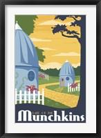 Framed Munchkin Travel