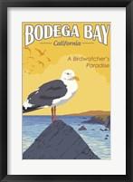 Framed Bodega Bay
