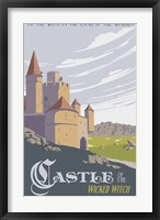 Framed Witche's Castle Travel