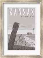 Framed Wizard Oz Kansas Duo