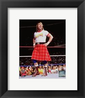 Framed Rowdy Roddy Piper Action