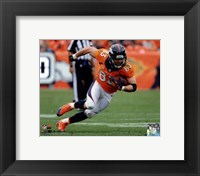 Framed Wes Welker 2013 Action