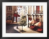 Framed Cafe on the Corner