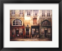 Framed Market Street