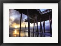 Framed Sunrise at the Pier