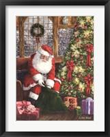 Framed Santa's Bag