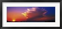 Framed Sunset Marion Co IL USA