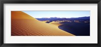 Framed Sunrise at Stovepipe Wells, Death Valley, California