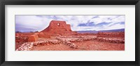Framed Ruins of the Mission, Pecos National Historical Park, Pecos, New Mexico, USA