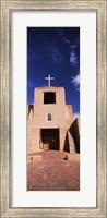 Framed Facade of a church, San Miguel Mission, Santa Fe, New Mexico, USA