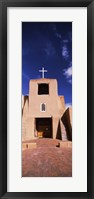 Framed Facade of a church, San Miguel Mission, Santa Fe, New Mexico, USA