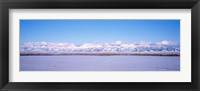 Framed USA, Montana, Bozeman, Bridger Mountains