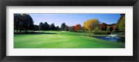 Framed Golf course, Westwood Country Club, Vienna, Fairfax County, Virginia, USA