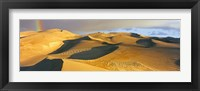 Framed Rainbow at Great Sand Dunes National Park, Colorado, USA