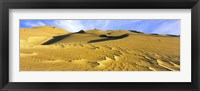 Framed Sand dunes in a desert, Great Sand Dunes National Park, Colorado, USA