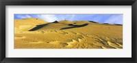 Framed Sand dunes in a desert, Great Sand Dunes National Park, Colorado, USA