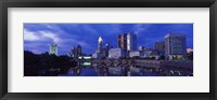 Framed USA, Ohio, Columbus, Scioto River