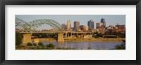 Framed Bridge over a river, Kansas city, Missouri, USA