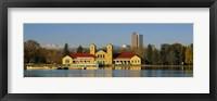 Framed Buildings at the waterfront, City Park Pavilion, Denver, Colorado, USA