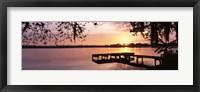 Framed Lake Whippoorwill, Sunrise, Florida