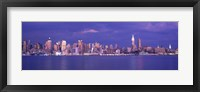Framed Hudson River, NYC, New York City, New York State, USA