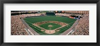 Framed Camden Yards Baseball Field Baltimore MD