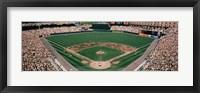 Framed Camden Yards Baseball Field Baltimore MD