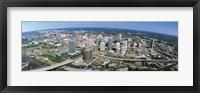 Framed Aerial Richmond VA