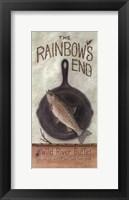 Framed Rainbow's End