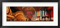 Framed Fremont Street Las Vegas NV USA