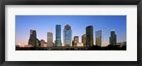 Framed USA, Texas, Houston