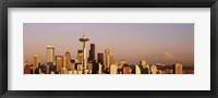 Framed Skyline, Seattle, Washington State, USA